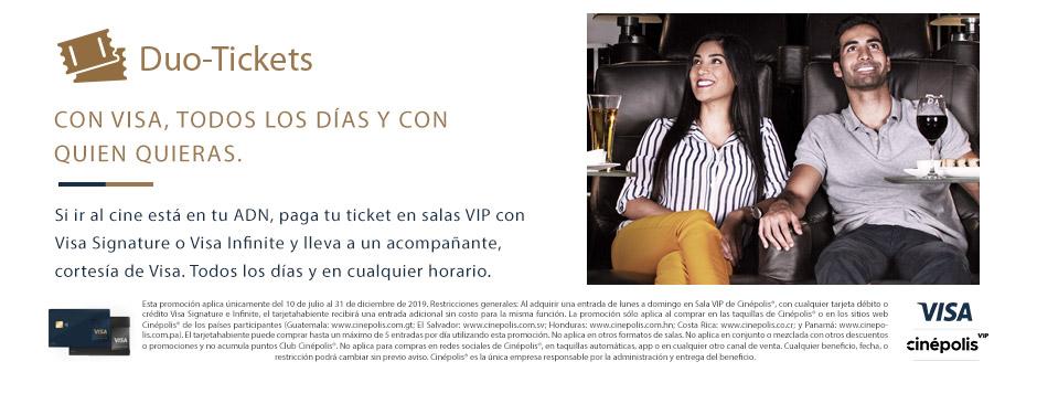 Promocion Visa VIP