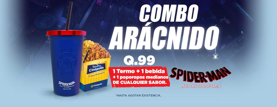 Promocionales Spiderman