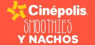 Smoothies y nachos a precio especial