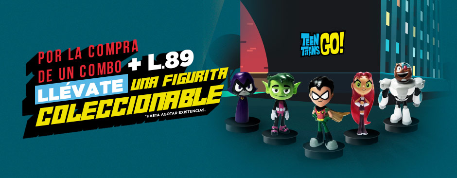 Promocionales Teen Titans