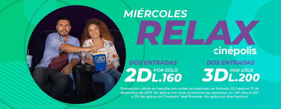 Promoción Relax