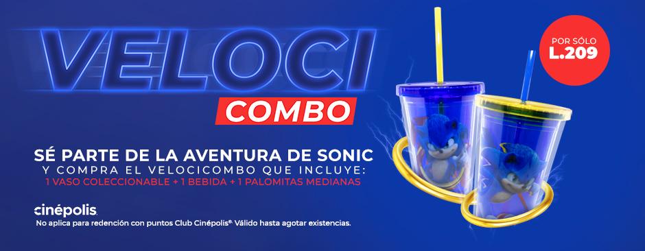 Promocional Sonic