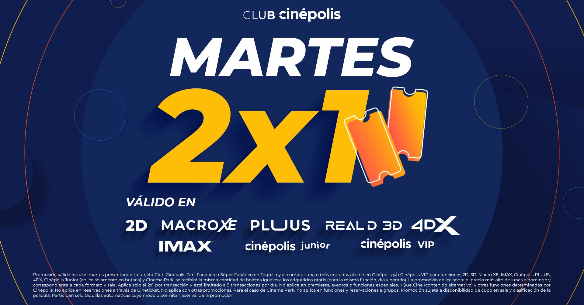 Promociones Club Cinépolis