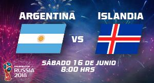WC2018 Argentina vs Islandia