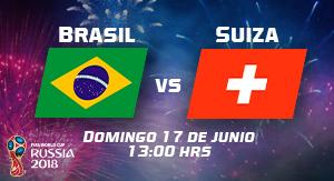 WC2018 Brasil vs Suiza