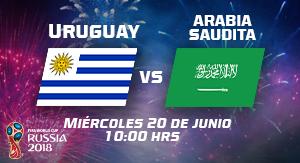 WC2018 Uruguay vs Arabia Saudita
