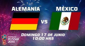 WC2018 Alemania vs México