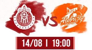 Chivas vs Alebrijes