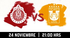 Chivas vs Tigres
