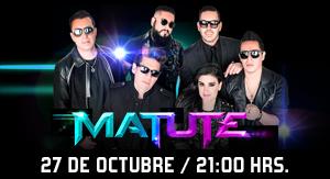Matute en Concierto BOOMBOX Tour