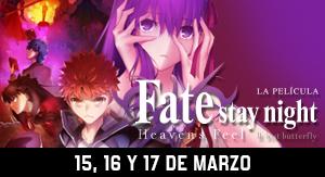 Fate Stay Night Heaven´s Feel Parte 2