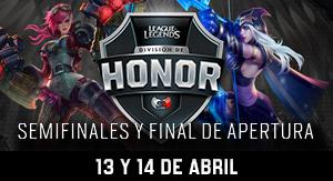 División de Honor: Final de Apertura