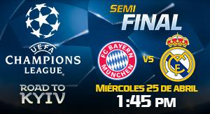 UEFACHL Bayern vs Real Madrid