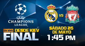 UEFACHL FInal Liverpool vs Real Madrid