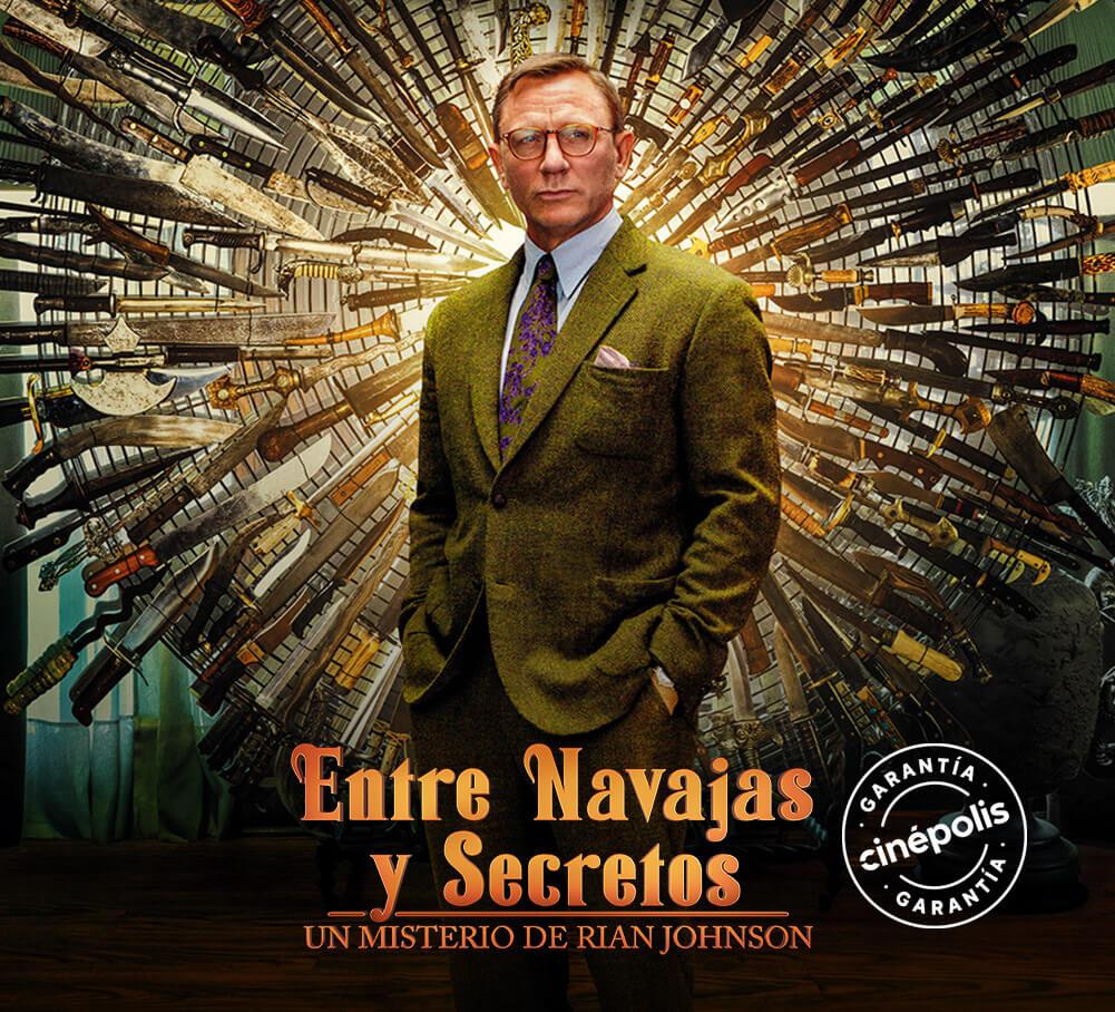 Entre Navajas y Secretos Contenido especial 4 | Garantía Cinépolis