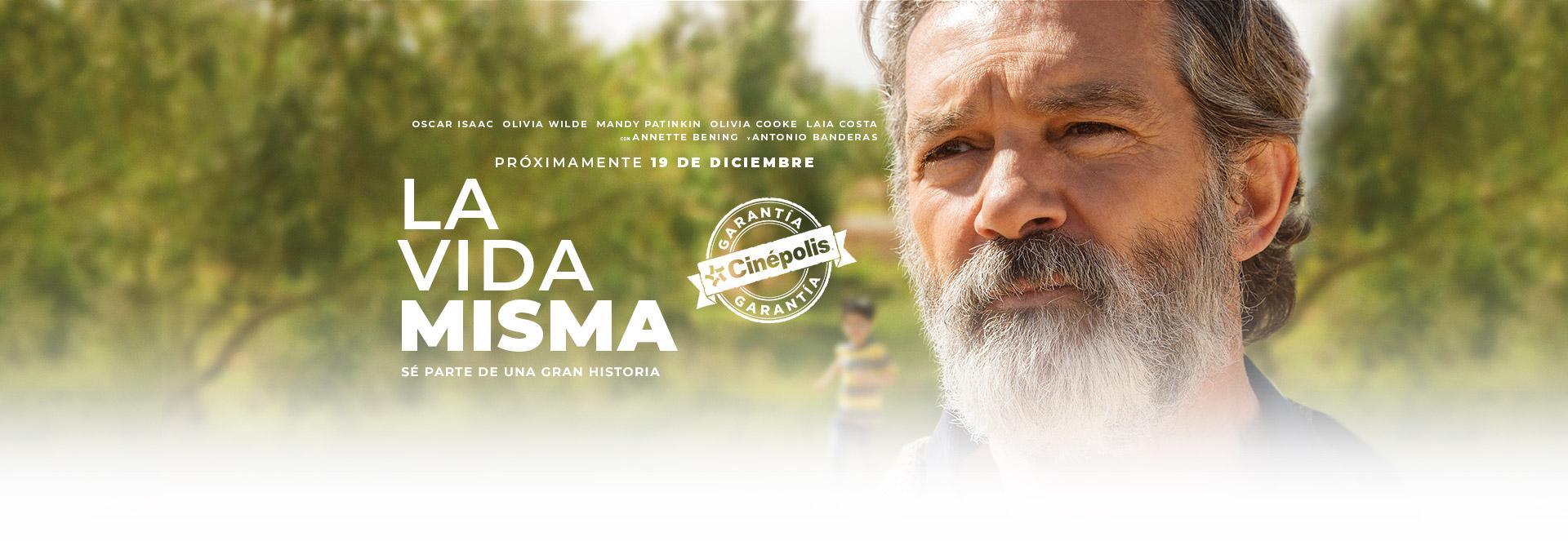 Banner La Vida Misma | Garantía Cinépolis
