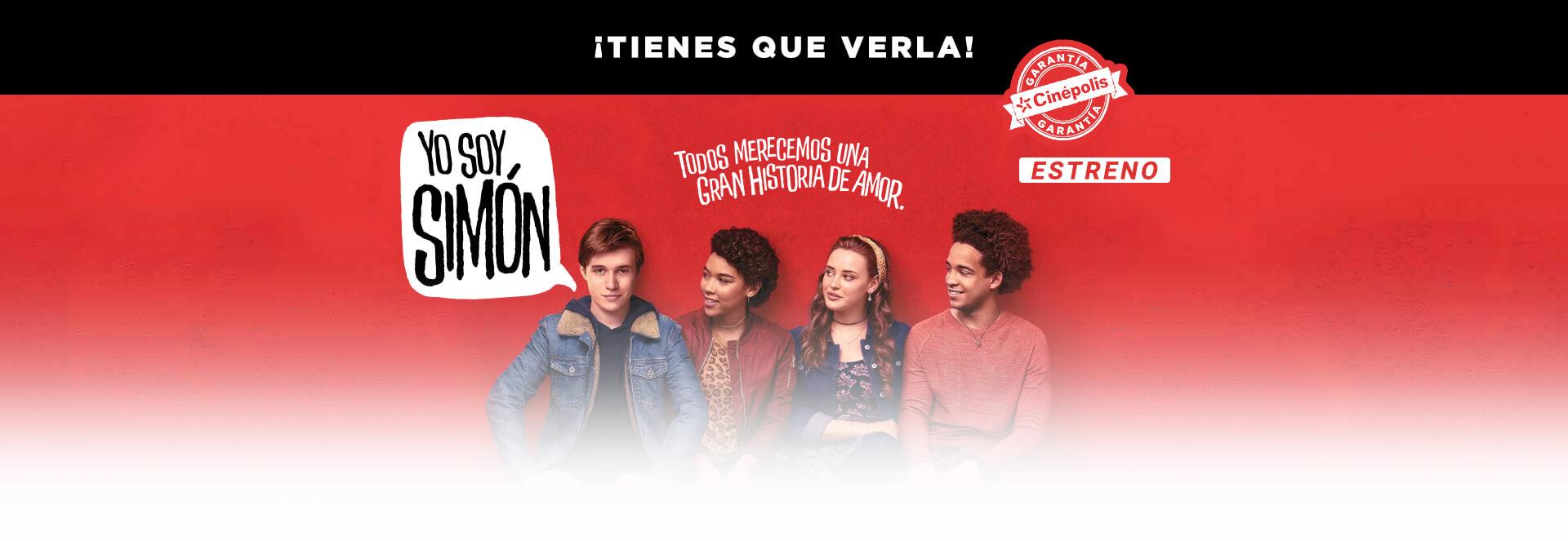 Banner Yo soy Simón | Garantía Cinépolis