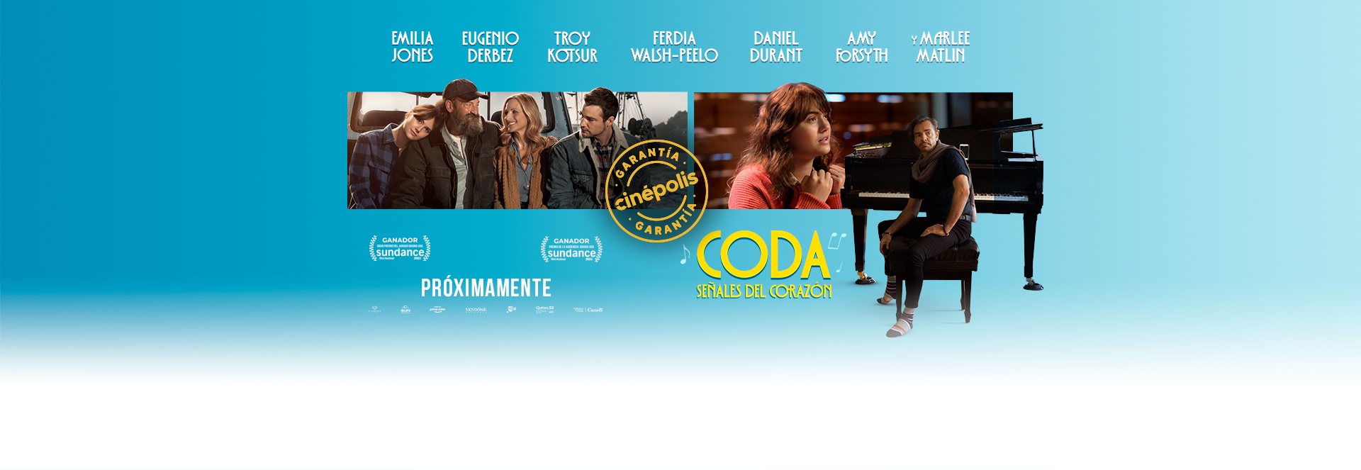 Banner Coda: Señales del Corazón | Garantía Cinépolis