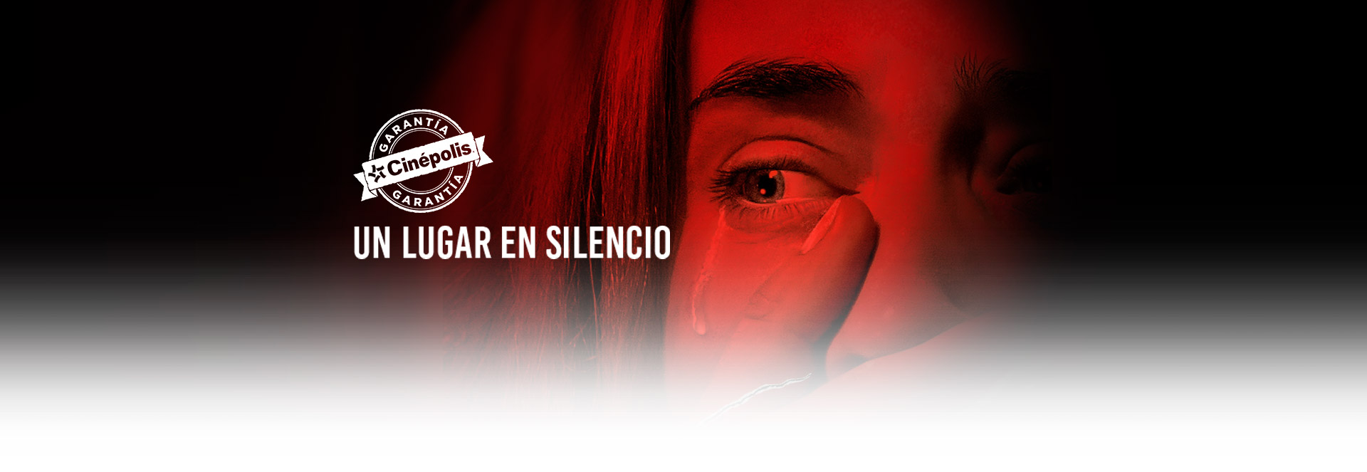 Banner Un lugar en silencio | Garantía Cinépolis