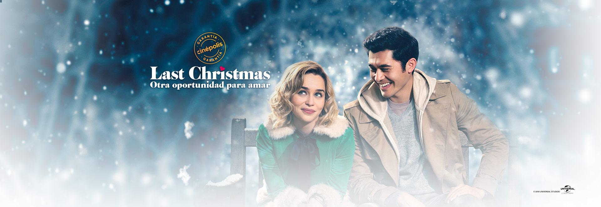 Banner Last Christmas: Otra oportunidad para amar   Garantía Cinépolis