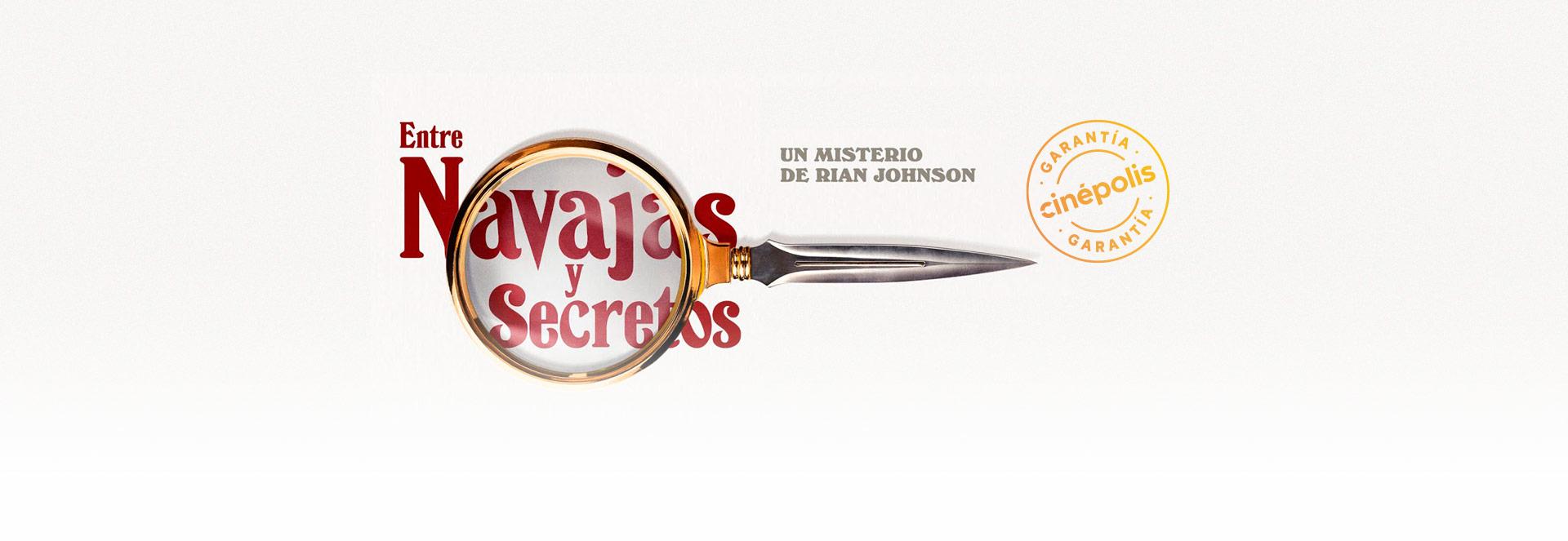 Banner Entre navajas y secretos   Garantía Cinépolis