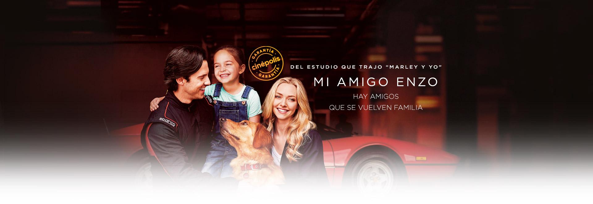 Banner Mi amigo Enzo   Garantía Cinépolis