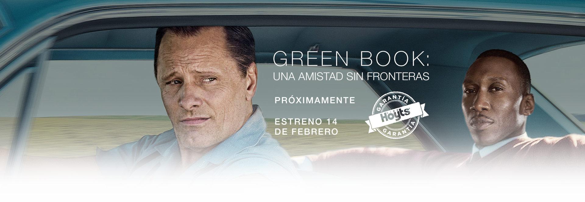 Banner GREEN BOOK: UNA AMISTAD SIN FRONTERAS | Garantía Cinépolis