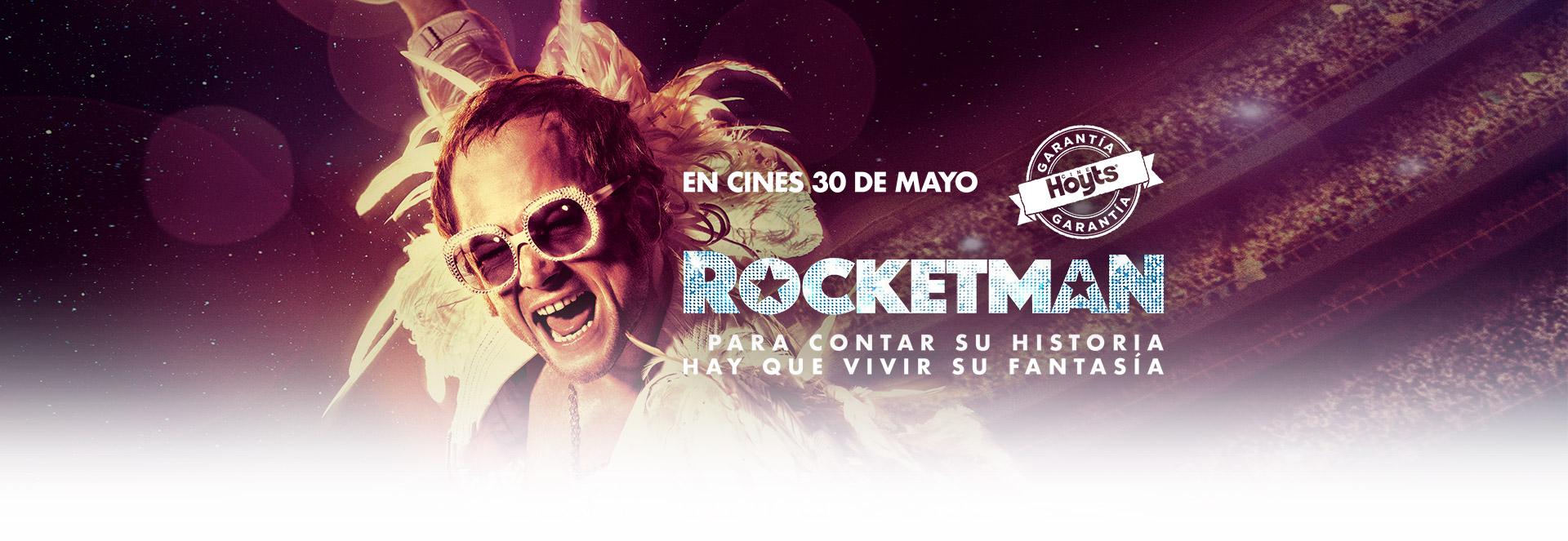 Banner ROCKETMAN | Garantía Cinépolis