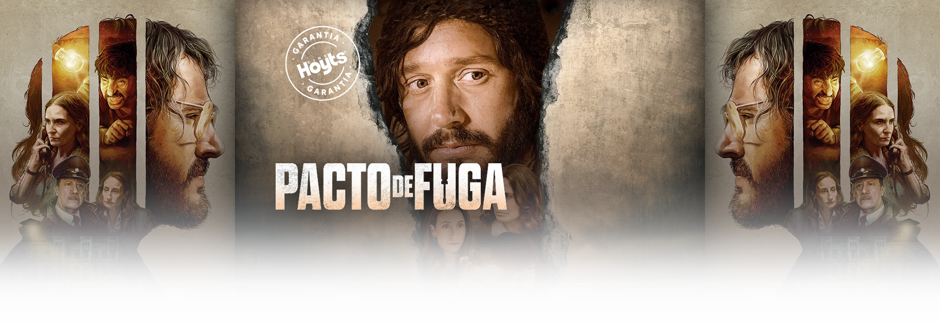 Banner PACTO DE FUGA | Garantía Cinépolis