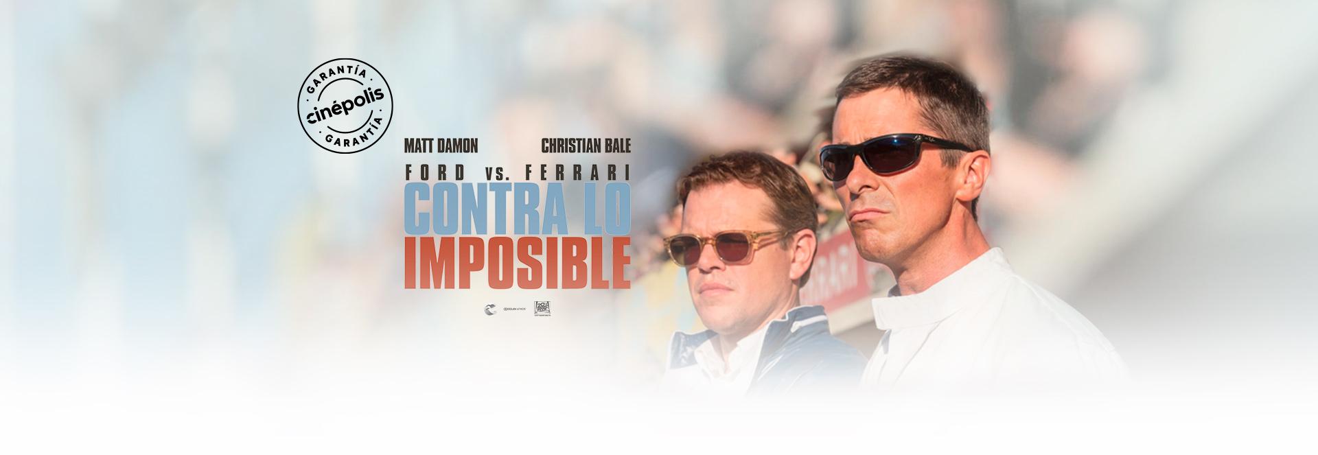 Banner Contra lo imposible | Garantía Cinépolis
