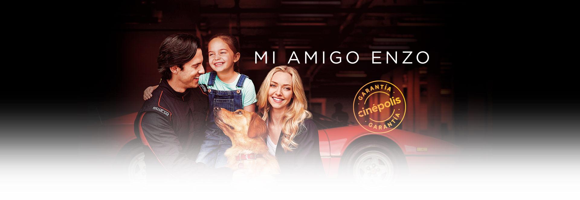 Banner Mi amigo Enzo | Garantía Cinépolis