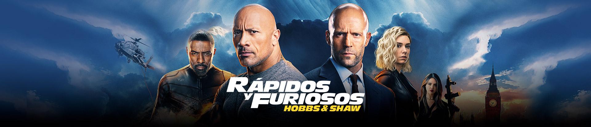 Rápidos y Furiosos Hobbs and Shaw