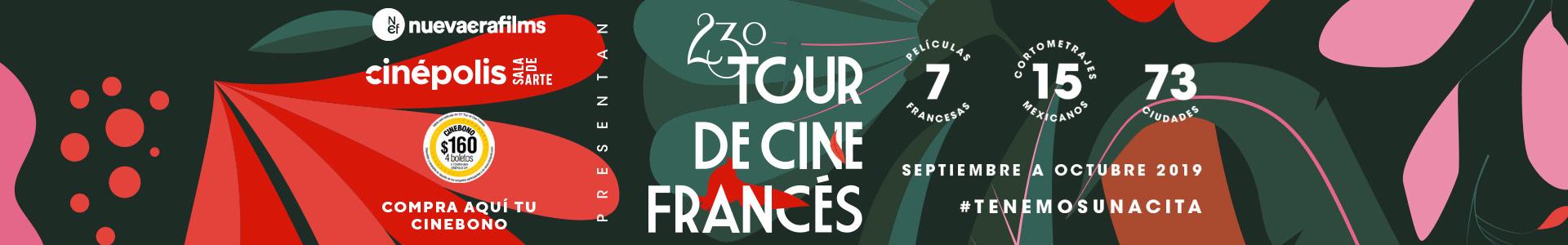 23 Tour de Cine Francés