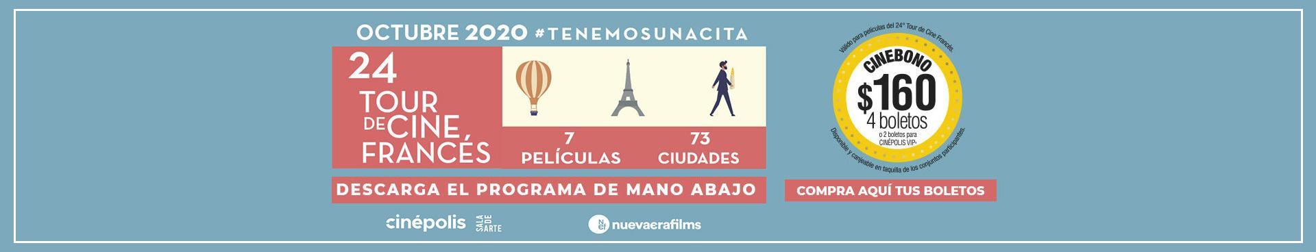 24 Tour de Cine Francés