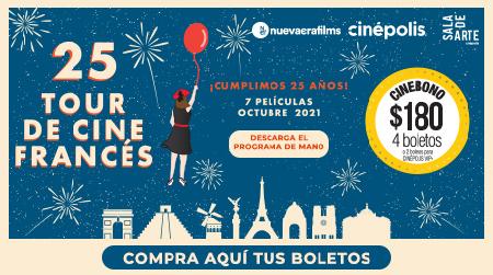 25 Tour de Cine Francés
