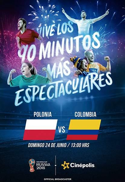 wc2018 polonia vs colombia