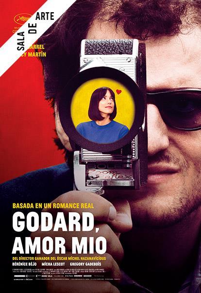 Póster oficial Godard, amor mío