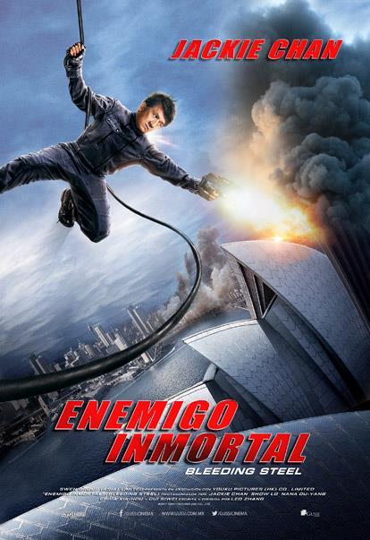 Enemigo Inmortal, póster oficial
