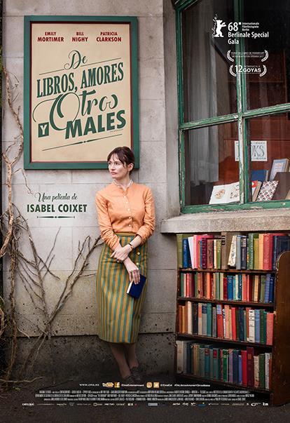 De Libros, Amores y Otros Males, póster oficial