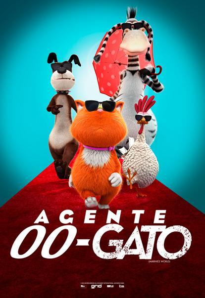 Resultado de imagen para Agente 00-Gato (2018)