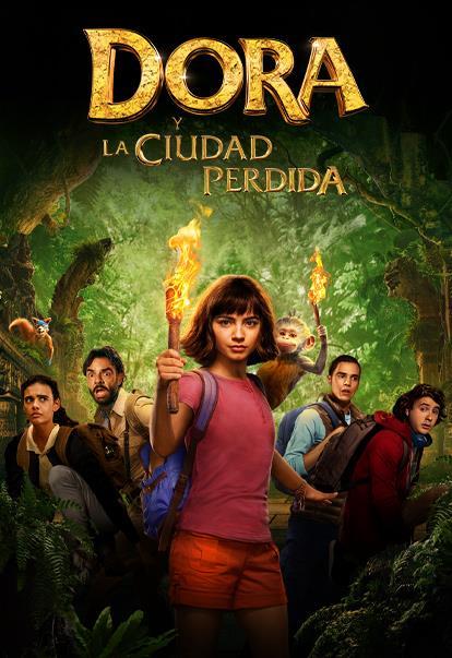 Poster de Dora y la Ciudad Perdida